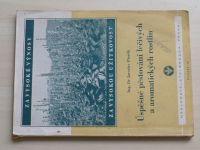 Dr. Písařík - Pěstování léčivých, aromatických a kořeninových rostlin (1950)