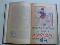 Vzkříšení - Noviny sokolské mládeže roč.XVII. (1-9) 1930-1931