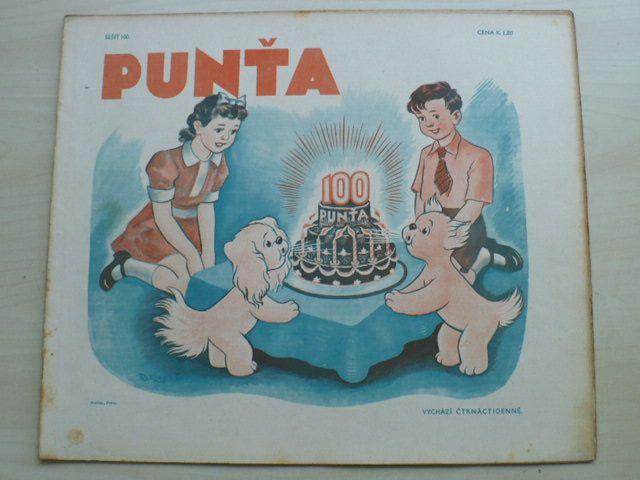 Punťa - sešit 100 (1941)