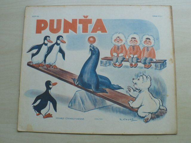 Punťa - sešit 102 (1941)