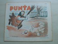 Punťa - sešit 103 (1941)