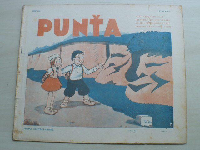Punťa - sešit 109 (1941)