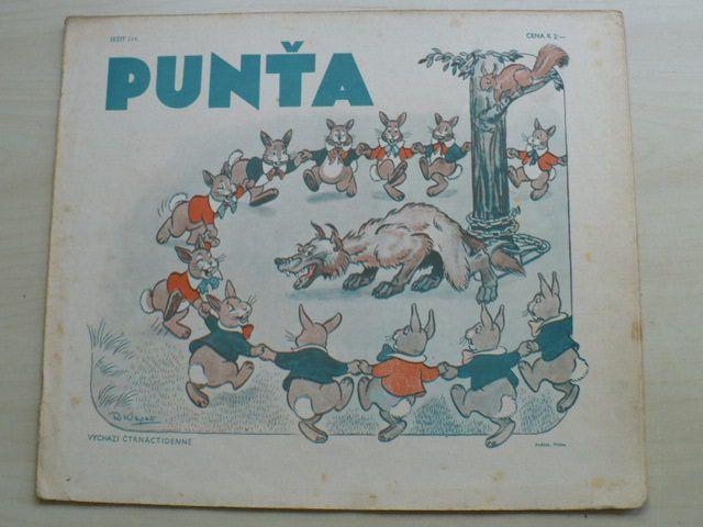 Punťa - sešit 114 (1941)