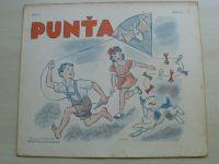 Punťa - sešit 117 (1941)