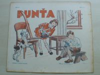 Punťa - sešit 121 (1941)