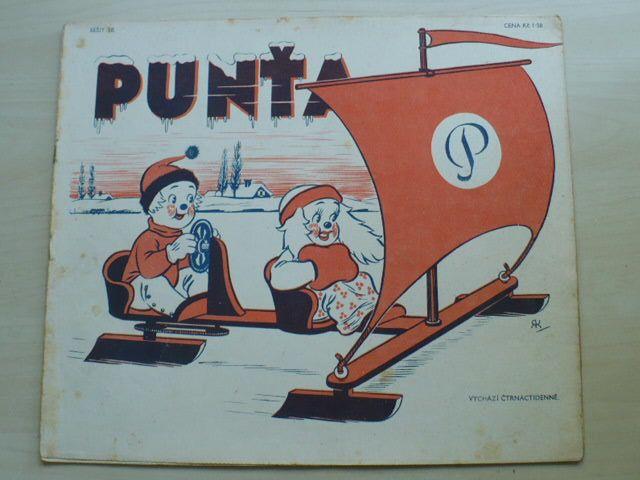 Punťa - sešit 50 (1939)