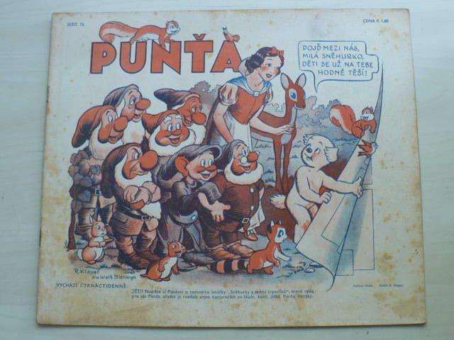 Punťa - sešit 76 (1940)