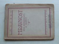 Guyau - Mravnost bez závaznosti a sankce (1919)