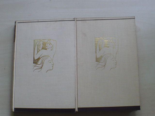 Henry de Montherlant - Dívky I.II.(Symposion 1937) 57/200, 171/200, mědirytiny Mašek