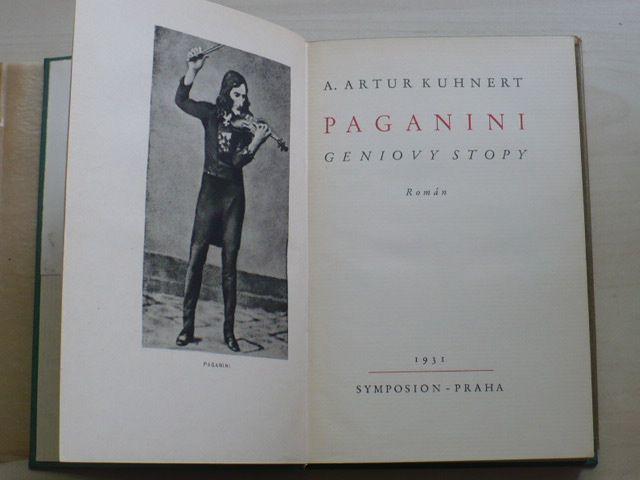 Kuhnert - Paganini - Geniovy stopy (Symposion 1931)