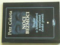Cekota - Noci bezmoci - Studie o křesťanství a současné poesii (1997)
