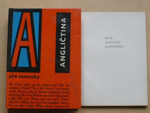 Kollmanová - Angličtina pro samouky (1964) + Klíč, dodatek, slovníček