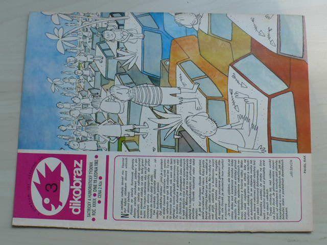 Dikobraz 3 (1983) ročník XXXIX.