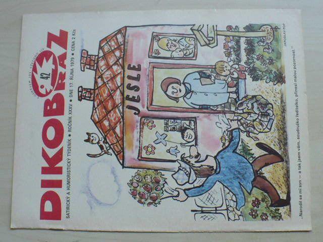 Dikobraz 42 (1979) ročník XXXV.
