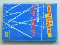 Jízdní řád 1995/1996 Morava a Slezsko (1995)