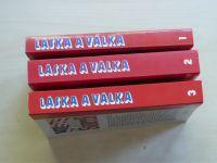 Jakes - Láska a válka 1-3 (1992) 3 svazky