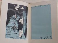 František Halas  Tvář (1931) frontispice, vazba, úprava J. Štyrský