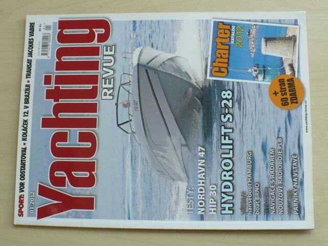 Yachting revue 1-12 (2012) chybí čísla 5, 7, 9, 11-12 (7 čísel)