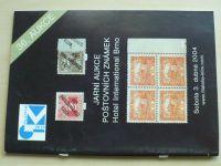 Jarní aukce poštovních známek - Hotel International Brno (2004) 36. aukce