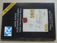 Jarní aukce poštovních známek - Hotel International Brno (2005) 38. aukce