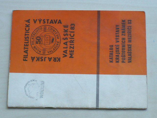 Katalog Krajské výstavy poštovních známek Valašské Meziříčí (1983)