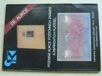 Písemná aukce poštovních známek a papírových platidel (2006) 26. aukce