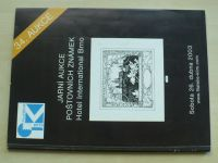 Jarní aukce poštovních známek - Hotel International Brno (2003) 34. aukce