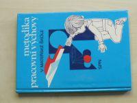Metodika pracovní výchovy v mateřské škole (1983) pro IV. ročník SPN