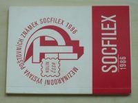 Mezinárodní výstava poštovních známek Socfilex (1986) Kolín