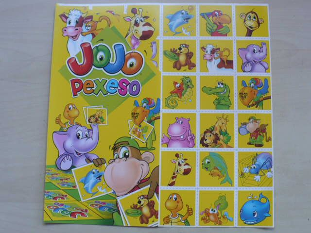Jojo pexeso (nedatováno)