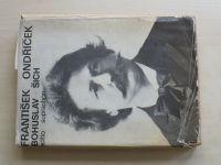 Šich - František Ondříček (1970) podpis a věnování autora