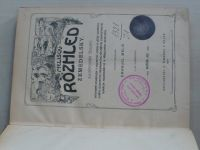 Melišův Rozhled zemědělský (1907) ročník XXI.