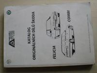 Katalog originálních dílů Škoda Felicia, Combi (1996)