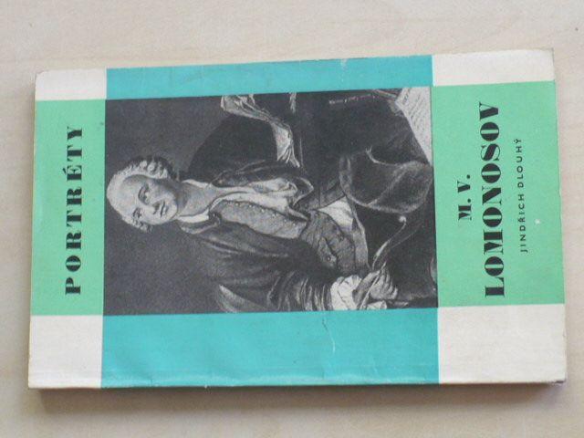 Portréty - Dlouhý - M. V. Lomonosov (1968)