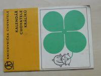 Knihovnička chovatele - Kalendář chovatele králíků (Sběrné suroviny)