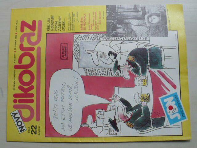 Nový Dikobraz 22 (1990) ročník I.