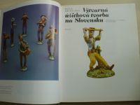 Michalides Výtvarná úžitková tvorba na Slovensku (1978) slovensky