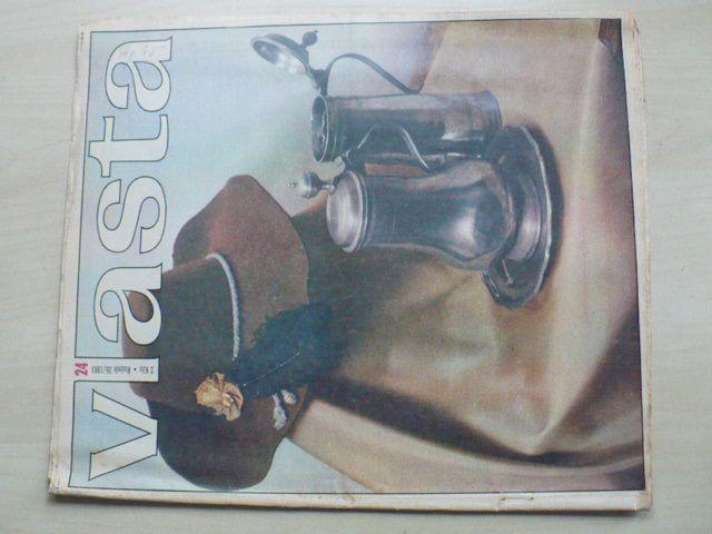 Vlasta 24 (1981) ročník XXXV.