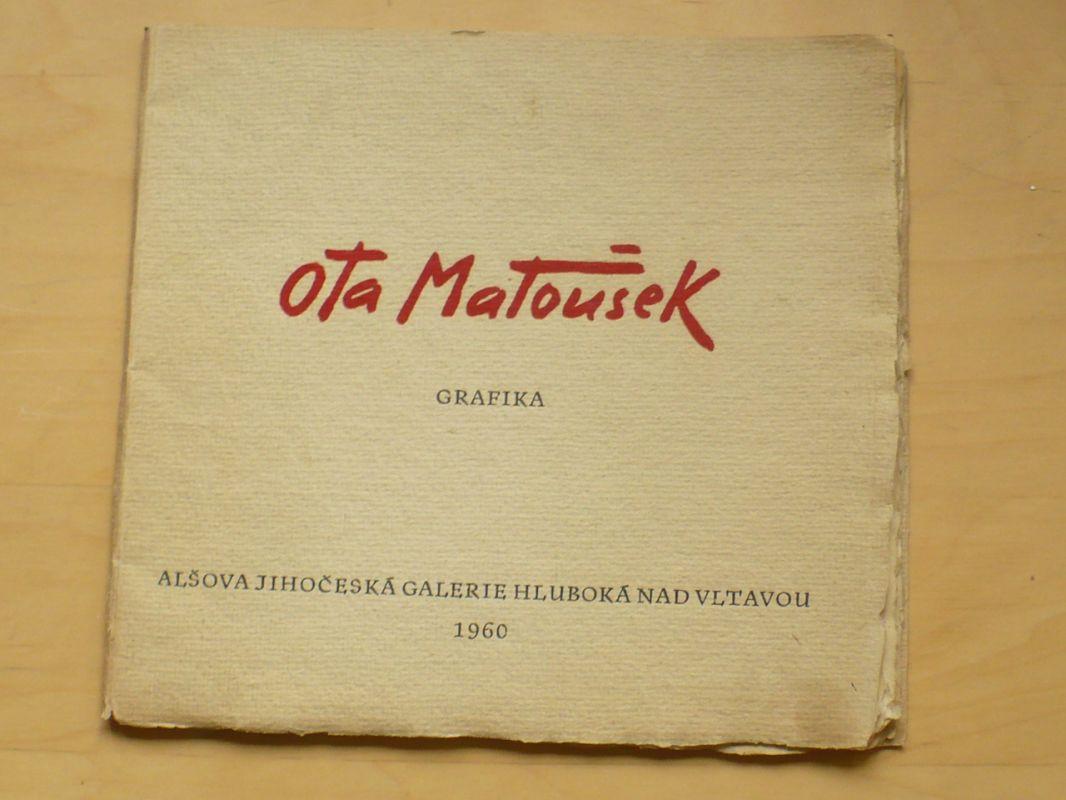 Ota Matoušek - grafika (1960) 300 výtisků