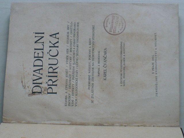 Čvančara - Divadelní příručka (1914)