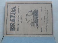 Brázda - Revue československého venkova 1-10 (1924) ročník V.