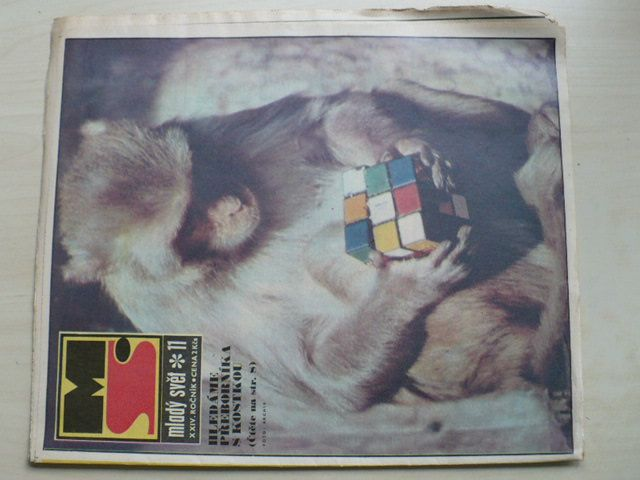 Mladý svět 11 (1982) ročník XXIV.