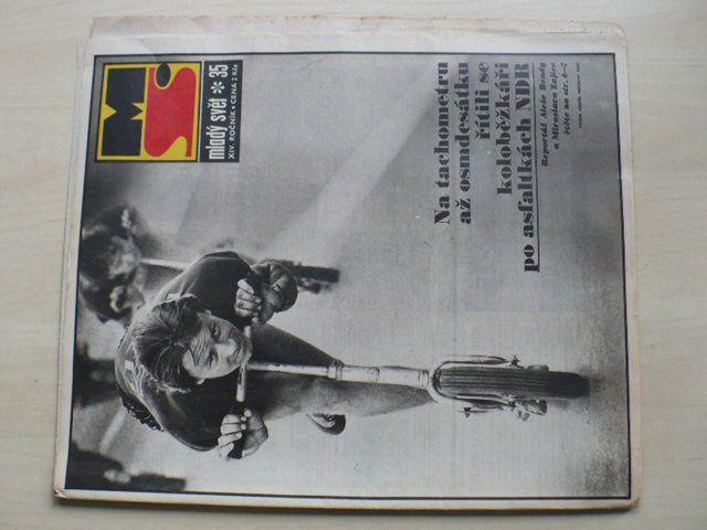 Mladý svět 35 (1972) ročník XIV.
