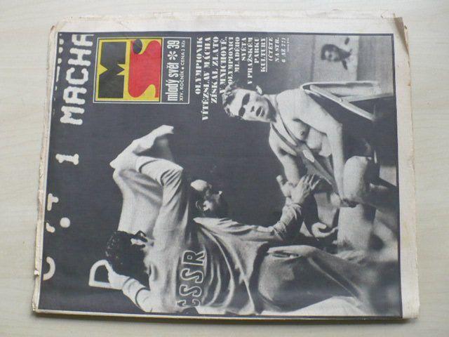 Mladý svět 39 (1972) ročník XIV.