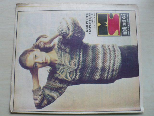Mladý svět 5 (1982) ročník XXIV.