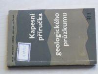 Hoza, Drunecký... - Kapesní příručka geologického průzkumu (1965)
