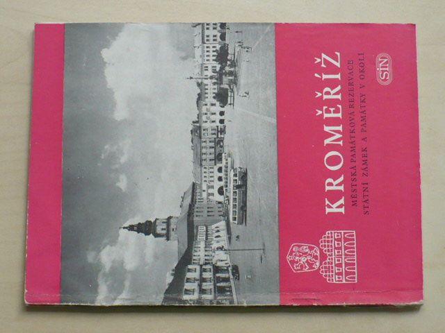 Kroměříž - Městská památková rezervace, státní zámek a památky v okolí (1963)