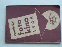 Pomůcky pro foto kino 1938 - Vladimír Albrecht Praha - Ceník