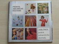 Průmysl jablonecké bižuterie - Jablonex, podnik zahraničního obchodu - 9-dílný katalog