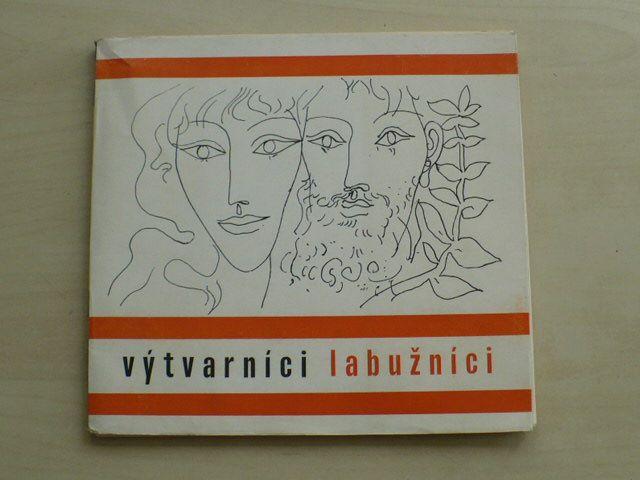 Výtvarníci labužníci - Klub přátel výtvarného umění, edice Obolos 1971